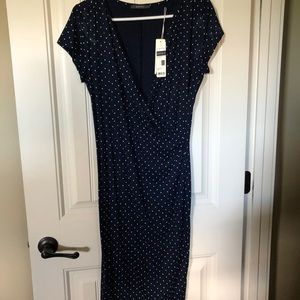 Esprit polka dot dress NWT
